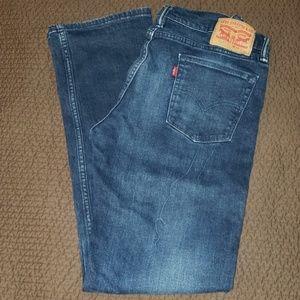 Levi's Jeans - Men's Levi's 514 slim straight jeans.